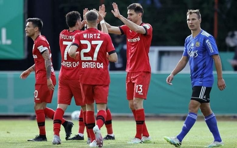 Леверкузен сложи край на приказката на Саарбрюкен и е на финал за Купата 1