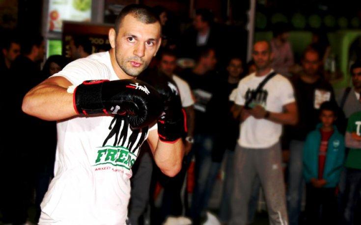 Българският боец Никола Дипчиков се завръща на ринга 1