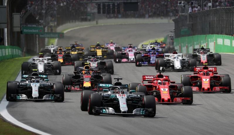 Формула 1 обяви календара за 2021 година 12