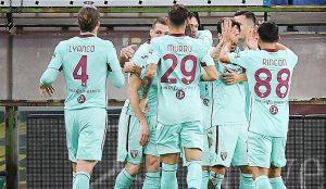 """Торино най-накрая записа първа победа в Серия """"А"""""""