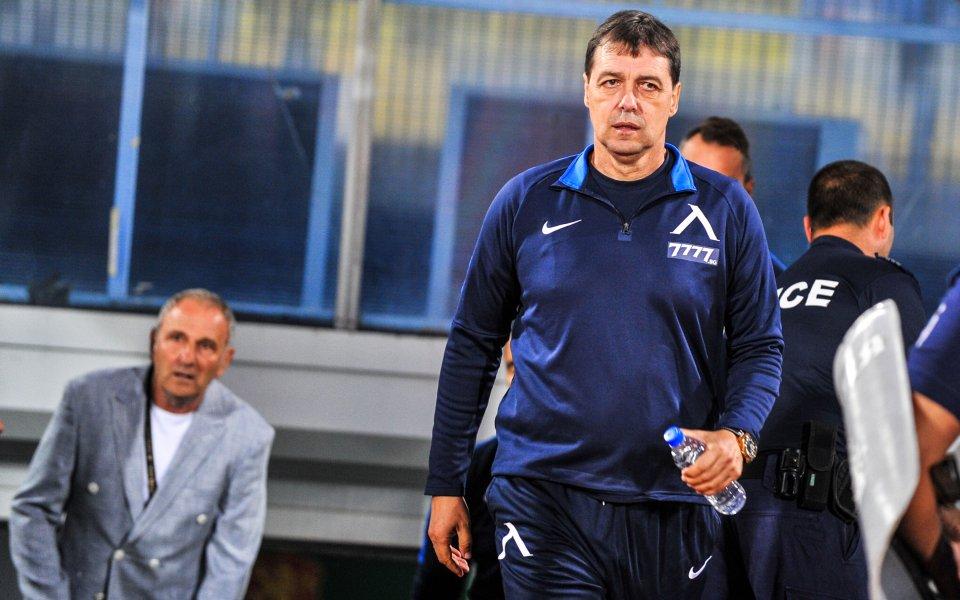 Жесток скандал между Хубчев и капитана на Левски след загубата от Локо (Пд) 1