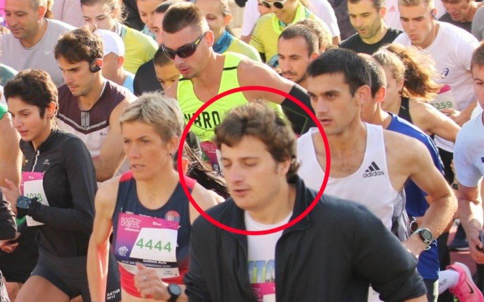 Арестуваха наглеца, който събори Йевтич на Софийския маратон 1