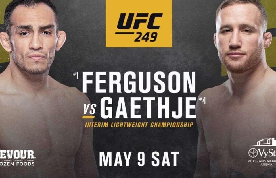 UFC 249 се завръща този уикенд с мега сблъсък между Фъргюсън и Гейджи 1