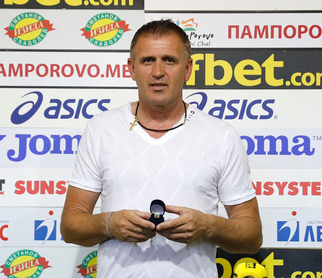 Акрапович е доволен от победата, пожела си успех над Тотнъм в Пловдив 1