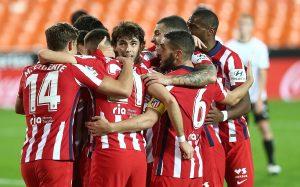 Атлетико Мадрид продължи впечатляващия си рейд