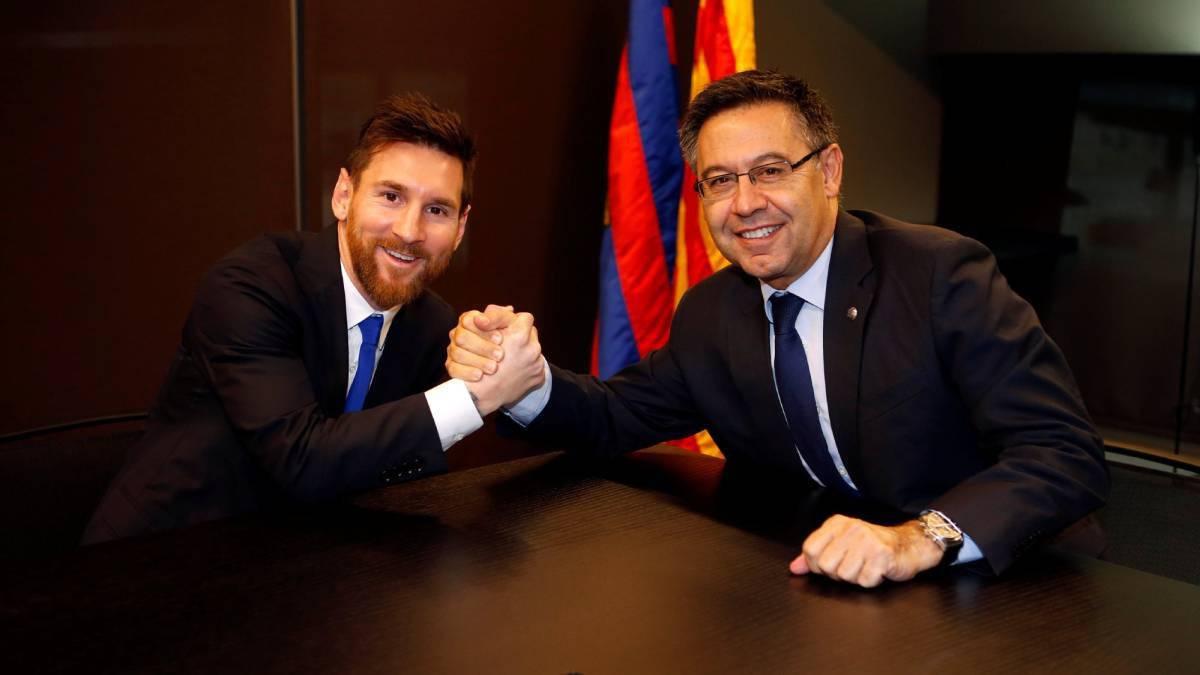 """Бартомеу:""""Меси иска да остане в Барса до края на кариерата си!"""" 1"""