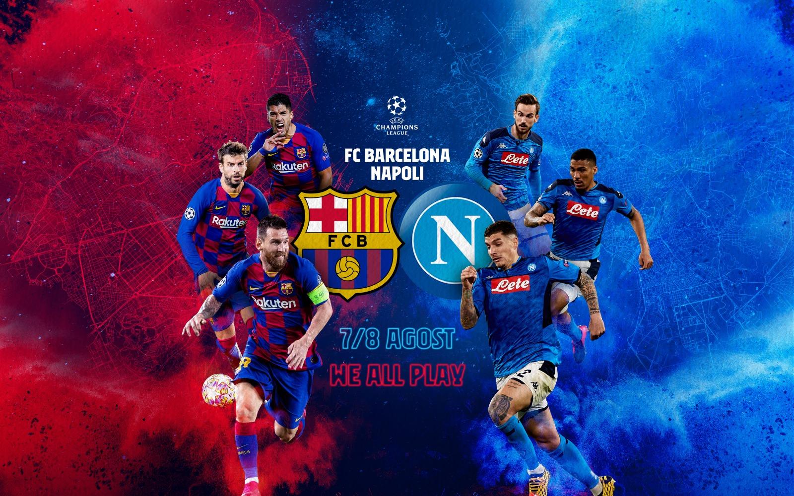 """УЕФА: Барса-Наполи на """"Камп Ноу"""", няма да е на неутрален терен 1"""