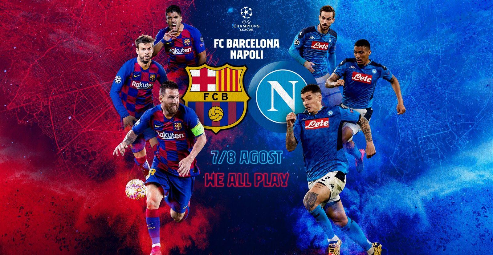 В УЕФА готови с План Б, Барса - Наполи може да се играе в Португалия 1