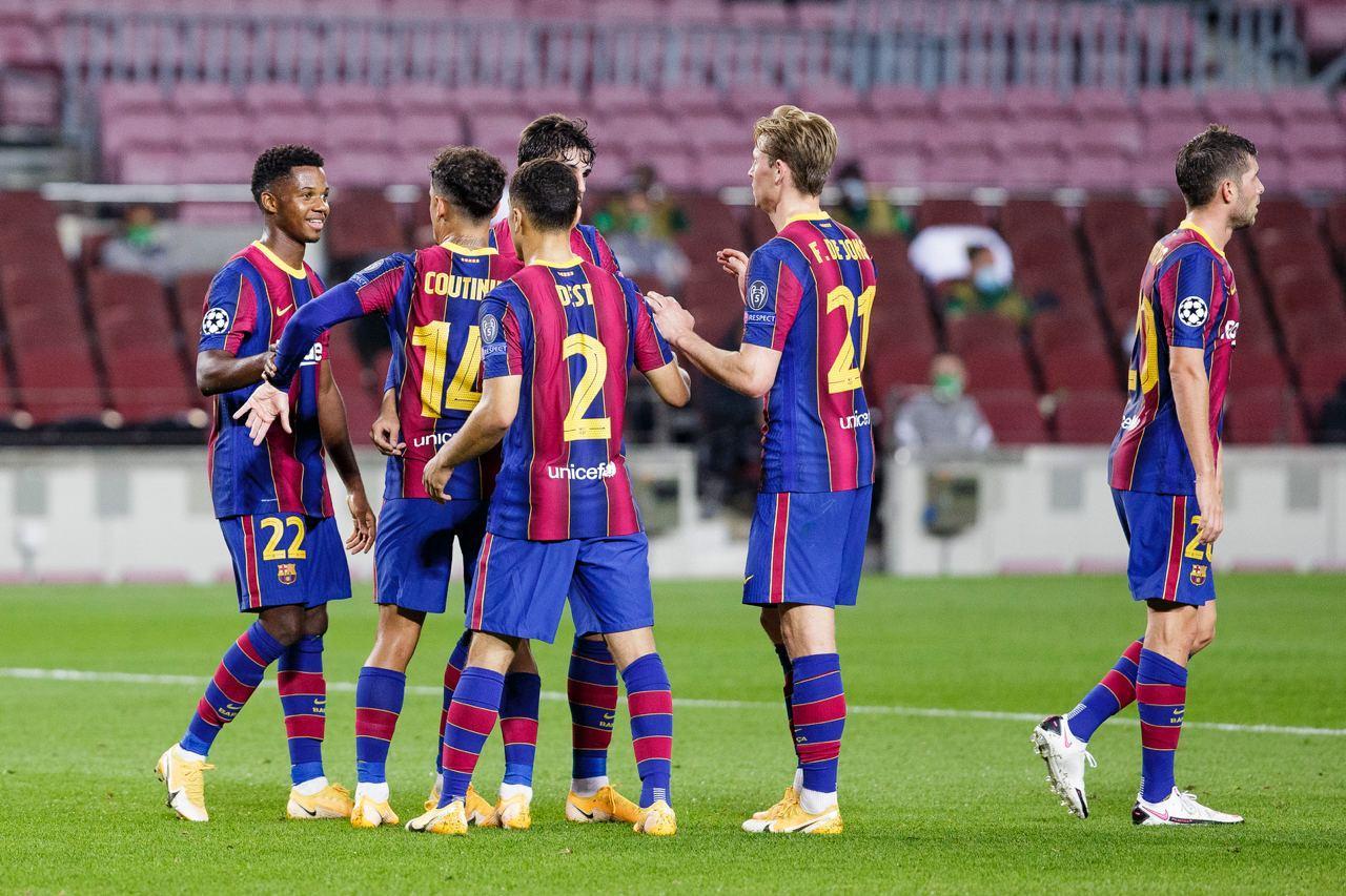 Барселона тръгна мощно в Шампионска лига, вкара 5 на Ференцварош 1
