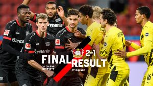 Леверкузен повали Дортмунд и вече е втори