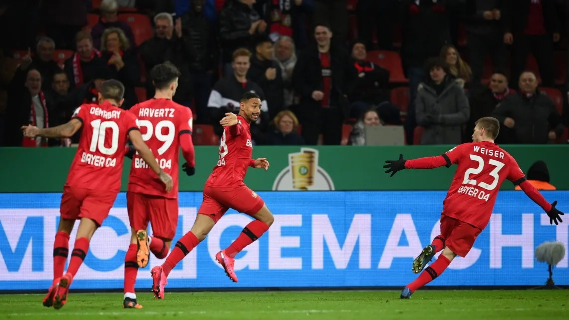 Байер Леверкузен обърна Унион Берлин и е на 1/2-финал за Купата 1