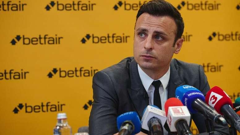 Бербатов пред Betfair: Никой не бива да критикува Симеоне за работата му
