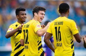 Борусия Дортмунд стартира новия сезон с разгром срещу Дуисбург