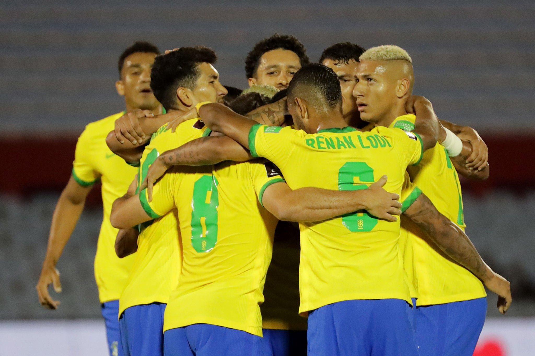 И без Неймар Бразилия се справи с Уругвай 9