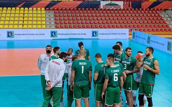 България записа втора победа в Скопие 25