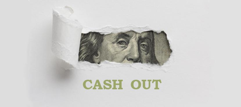 Каква е опцията Cash-Out? 1