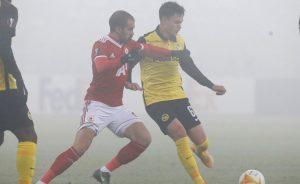В софийската мъгла ЦСКА отстъпи на Йънг Бойс