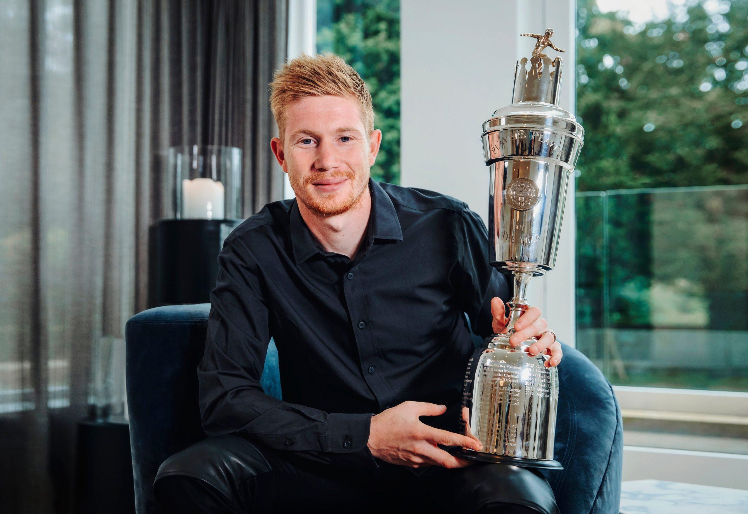 Де Бройне е Играч на годината в Англия 1