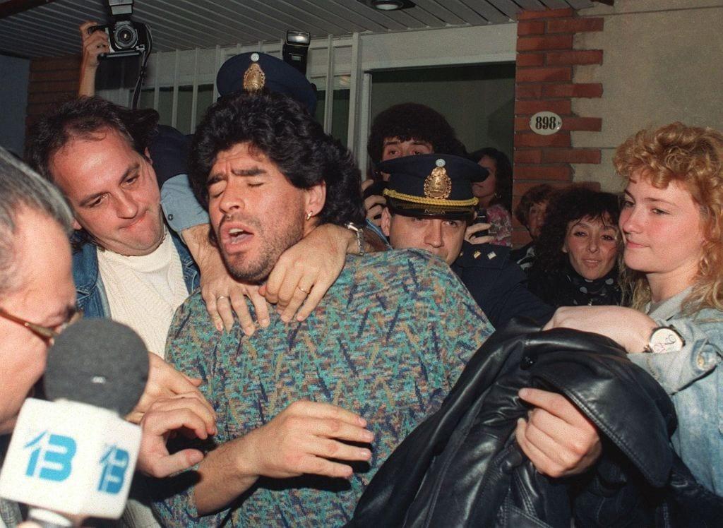 Дон Диего посегнал към кокаина още през 1981 година 2