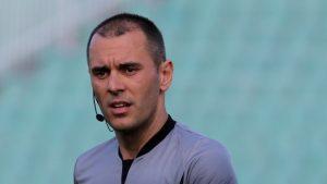 Година по-късно Драгомир Драганов отново свири ЦСКА – Берое