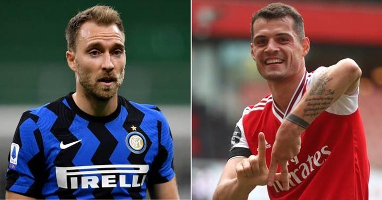 Интер предлага Ериксен на Арсенал, за да вземе Гранит Джака 1