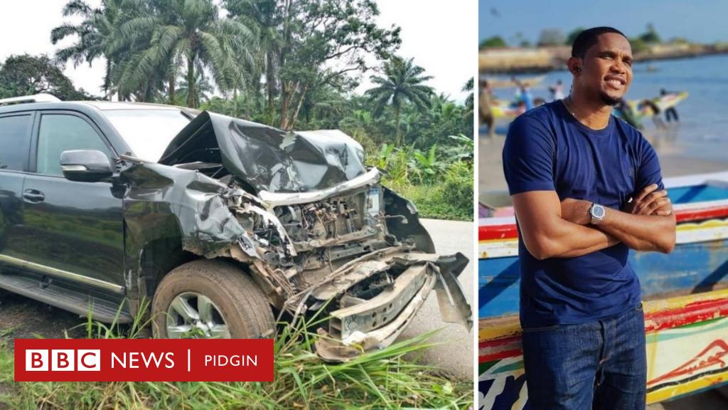 Ето'о катастрофира в Камерун 1