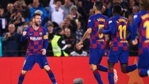 Барселона завърши сезона с разгром срещу Алавес