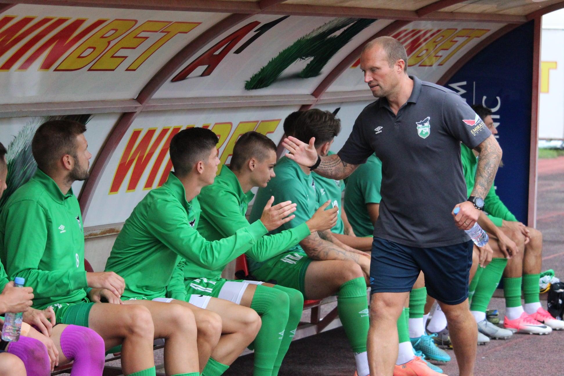Треньорът на Пирин: Берое е в топ 3 на футбола в България 1