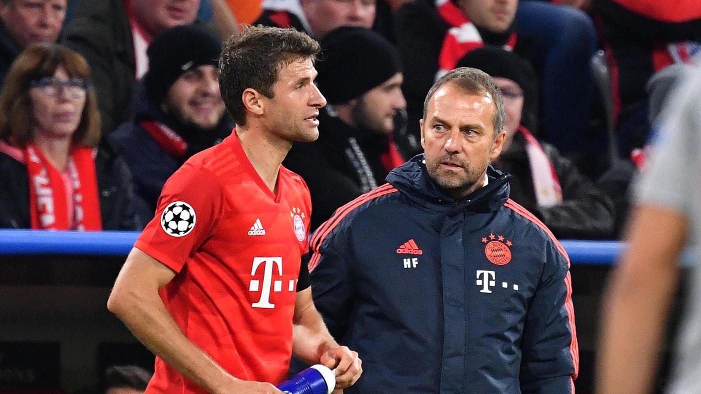Томас Мюлер се включи в тренировките на Байерн Мюнхен 19