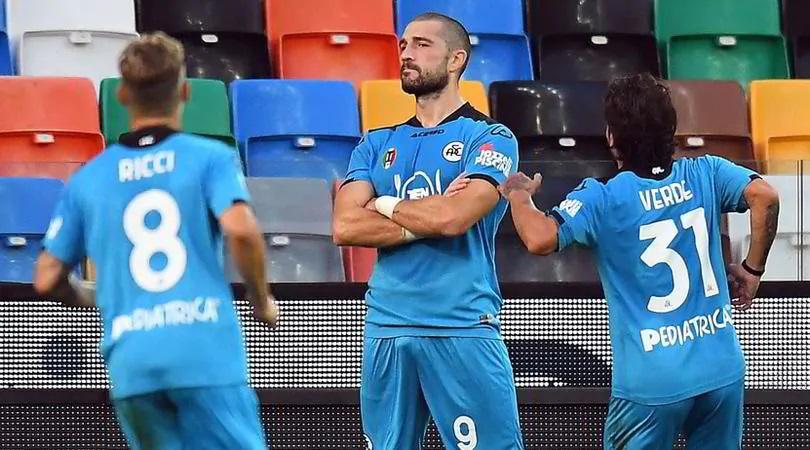 Гълъбинов е под въпрос за следващите мачове на Специя в Серия А 1