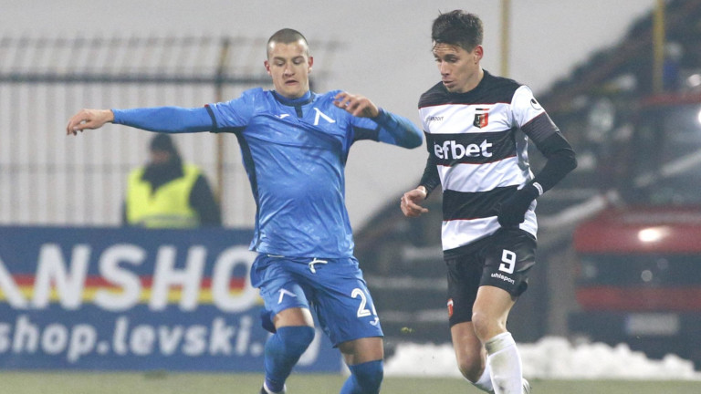 Патрик – Габриел Галчев се завръща в състава на Левски 1