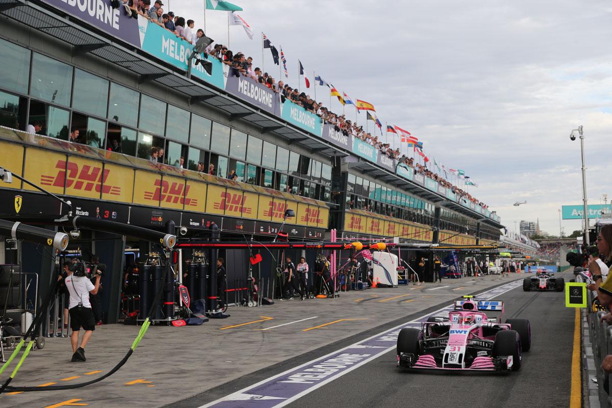 Гран При на Австралия пред отлагане 1