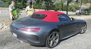 В Русия – взеха шофьорската книжка на Гришо за превишена скорост