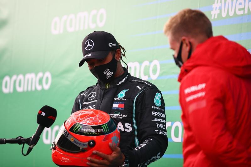 Хамилтън изравни рекорд на Шумахер след победа на Нюрбургринг 19