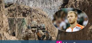 Капитанът на Армения пое към фронта, ще се бие с азерите