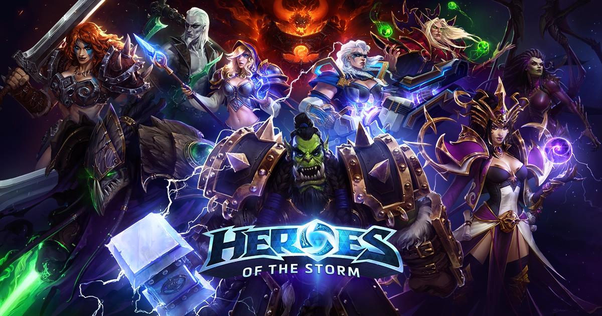 Залози на Heroes of the Storm 1