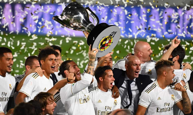 Реал Мадрид е шампион на Испания за 34-ти път в своята история! 1