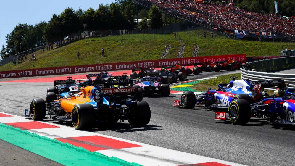Сезон 2020 във Формула 1 стартира в Австрия на 5 юли 1
