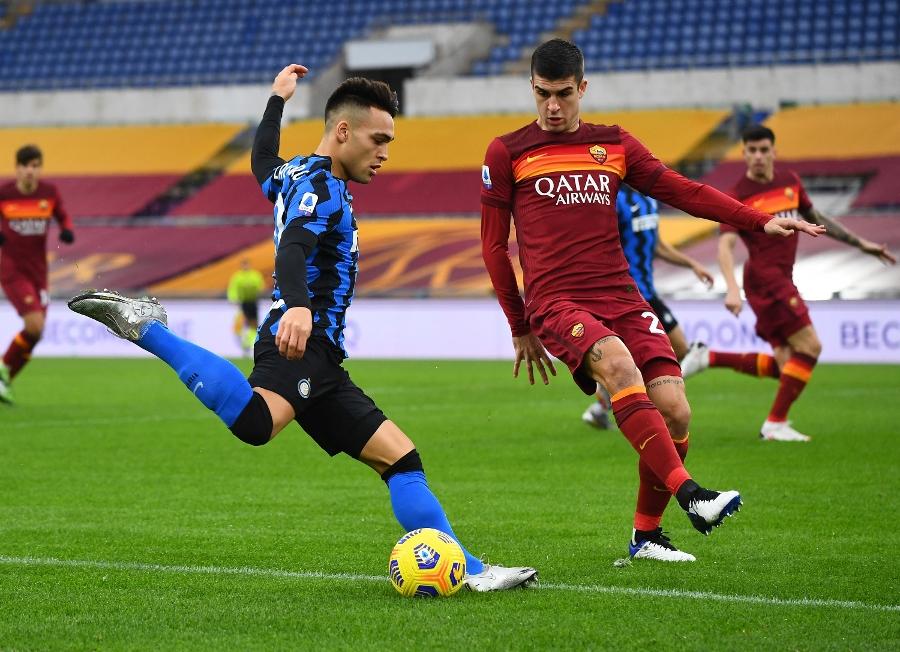 Шесто поредно равенство между Рома и Интер в Серия А 1