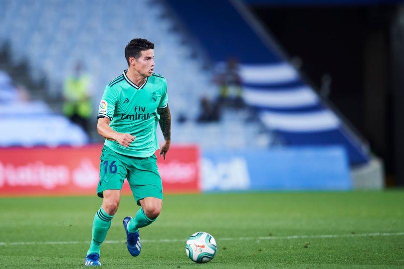 Хамес Родригес иска да играе във Висшата лига 1