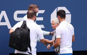 Бомба на US Open – дисквалифицираха Джокович (ВИДЕО)