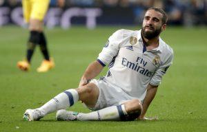 Неприятна новина за Реал: Карвахал извън строя за 2 месеца