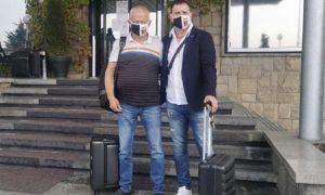 Крушарски и Акрапович заминаха на посещение на бразилски гранд