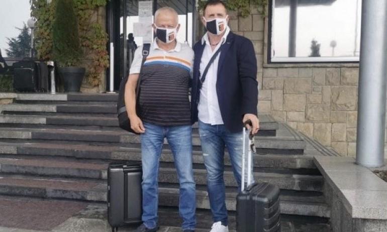 Крушарски и Акрапович заминаха на посещение на бразилски гранд 1