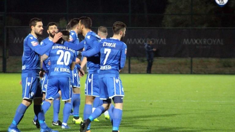 Славия се бори, но загуби от Кукеси с 1:2 и отпадна от Лига Европа 1