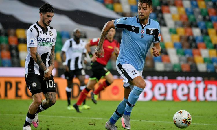 Лацио не победи в четвърти пореден мач, остана трети 1