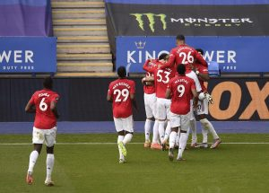 Ман Юнайтед хвана влакa за Шампионската лига след победа в Лестър