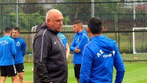 Левски се готви усилено за мача със Славия