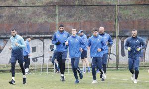 """Левски тренира в Хърватия, новият вратар на """"сините"""" се включи"""