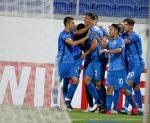 Впечатляващ Боби Цонев донесе втори пореден успех на Левски 4